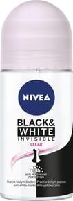 Nivea Black&White Invisible Clear Antyperspirant w kulce - 50 ml