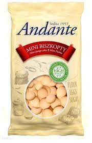 BISZKOPTY ANDANTE MINI MULTIPACK 210G IDC POLONIA
