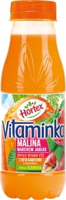 SOK HORTEX VITAMINKA MARCHEW JABLKO MALINA 300ML PET